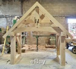 Oak Porch, Doorway, Wooden porch, IN STOCK READY TO DESPATCH