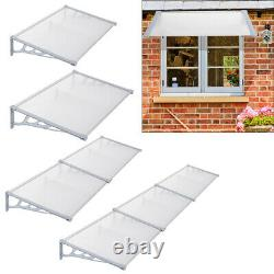 Outdoor Cover Door Canopy Porch Awning Rain Shelter Patio Roof Sun Shade Sheet