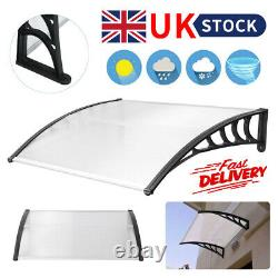 Outdoor Door Canopy Awning Rain Shelter Front Back Porch Shade Patio Roof Cover