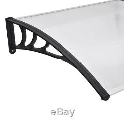 Outdoor Door Canopy Roof Cover Awning Shelter Window Patio Front Back Porch UK