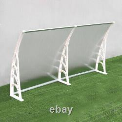 Outdoor Window Door Canopy Awning Porch Front Shade Shelter Water Rain Sun Cover