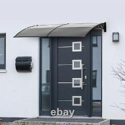Outsunny Door Canopy Awning Outdoor Window Rain Shelter Cover for Door Porch