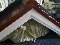 Over door large brand new fiberglass door canopy terracotta roof
