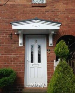Pacific S Porch Door Canopy GRP (Fibreglass) Front Entrance Door Canopy