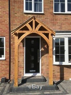 Porch Canopy- Green Oak- Solid