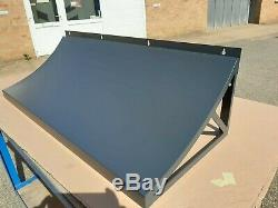 Quality Metal Door Canopy Roof Shelter Awning Shade Rain Cover Porch Front Back