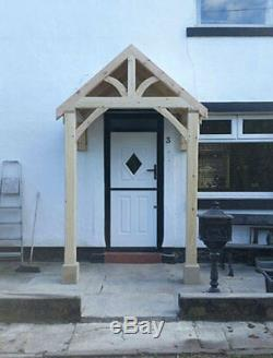 REDWOOD PORCH FRONT DOOR CANOPY HANDMADE IN SHROPSHIRE Grosvenor NOT OAK