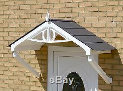 Regency Canopy Door Rain Shelter Sun Shade cover front porch easy DIY build