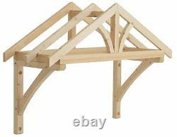 Richard Burbidge Apex Porch Canopy 1200mm + Gallow Brackets (LC001)
