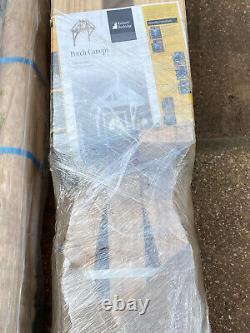 Richard Burbidge Apex Porch Canopy 1200mm + Gallow Brackets (LC001) & Accessory