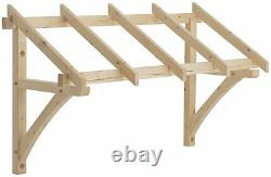 Richard Burbidge Flat Roof Porch Canopy (1200-1600mm) LC003