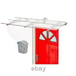 SUPERROOF Madrid Door Porch Canopy Awning Rain Shelter Patio Roof Cover RRP £255