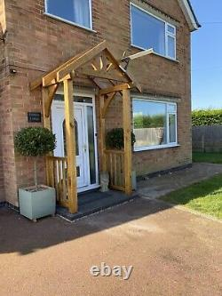 Solid Oak Door Canopy Come Porch