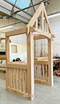 Solid Oak Porch, Doorway, Wooden porch, CANOPY, Entrance, Self build kit, porch