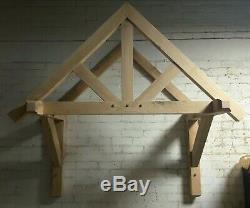 Solid Oak canopy, porch