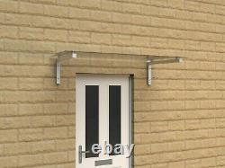 Sorrento Glass Door/Porch Canopy/Shelter-Made in the UK 1550 x 755mm