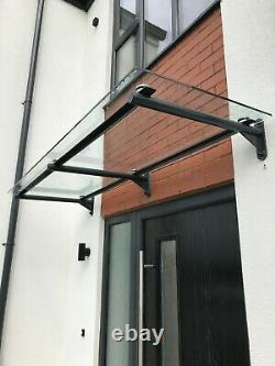 Standard Circular Glass Canopy 10mm Thick Glass top, Canopy Porch Door Shelter