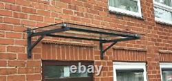 Standard Square Glass Canopy 10mm Thick Glass top, Canopy Porch Door Shelter