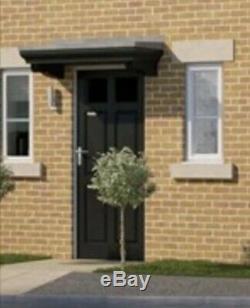 Storm King GRP Door Porch Canopy Brand New In Black