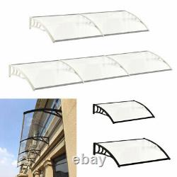 Sun Front Shade Shelter Patio Rain Cover ABS Door Window Canopy Awning Porch