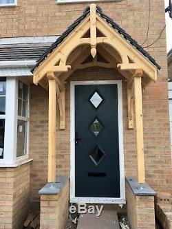 Timber Door Canopy Timber Door Porch Hand Made Bespoke Joinery (Made to order)