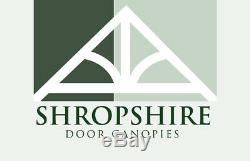 Timber Front Door Canopy Porch, THE WHITEMERE