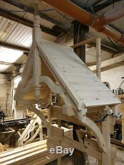 Timber Front Door Canopy Timber Door Porch, Bespoke (made to order)