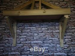 Timber Front Door Hip End Canopy Porch Hand Made Porch