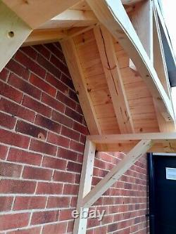 Timber Porch canopy door canopy handmade