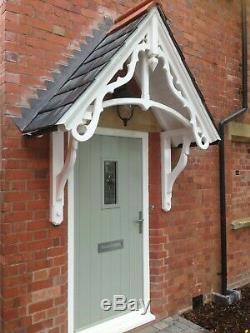 Timber door canopy, Victorian style wooden door canopy kit/ entrance porch kit