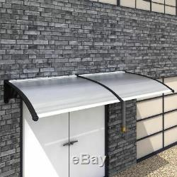 VidaXL Door Canopy 300x100cm Outdoor Porch Window Rain Awning Shelter Shade