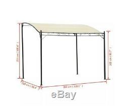 Wall Mounted Awning Door Canopy Porch Patio Yard Tent Gazebo Sunshade Shelter