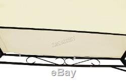 WestWood Metal Wall Gazebo Awning Garden Marquee Canopy Patio Door Porch MWG01