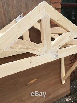 Wooden Porch Door Canopy £240